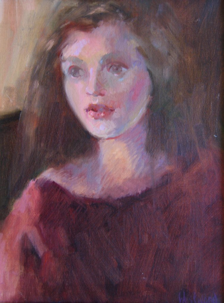 oil sketch portrait