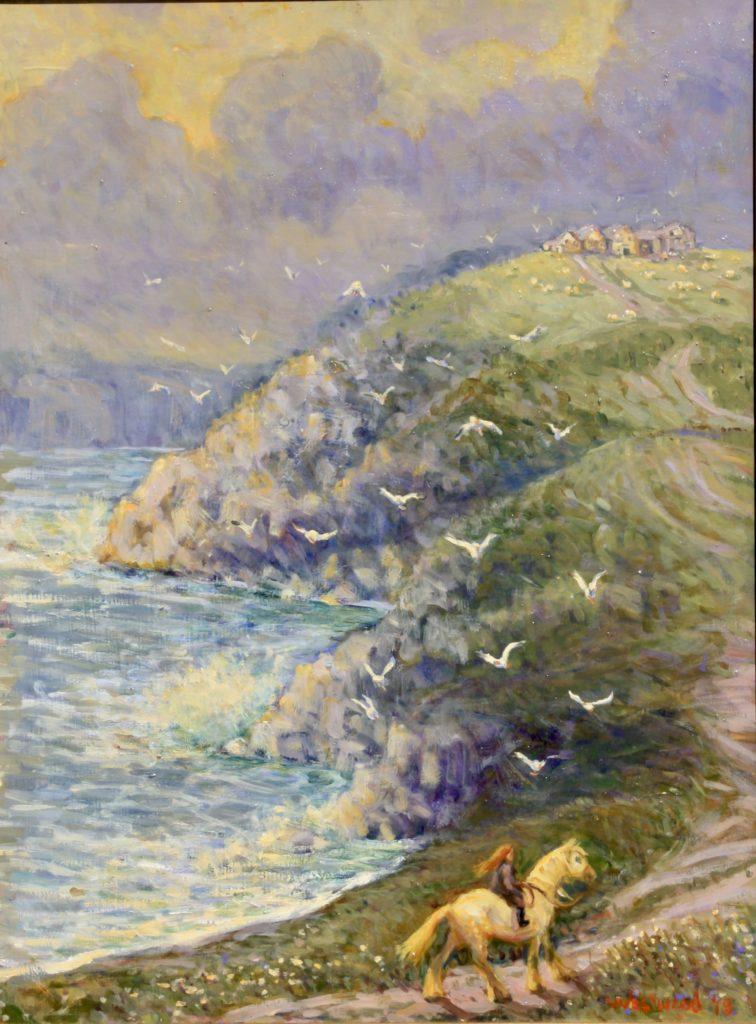 English seascape oil
